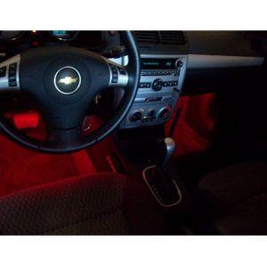 Flashing Led Lights Inside Car