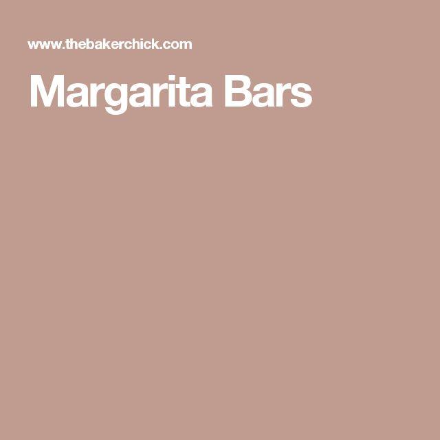 Margarita Bars