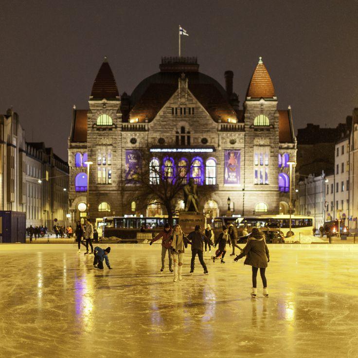 Skating - Helsinki, Finland