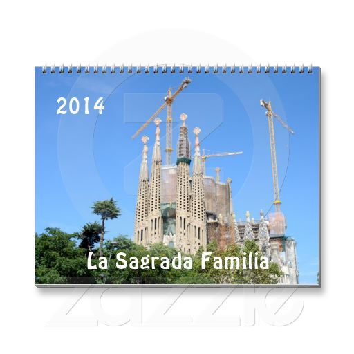 La Sagrada Familia 2014 calendar