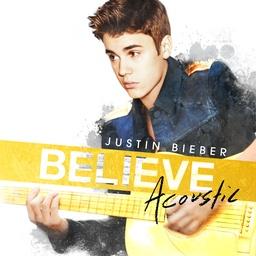 Actuellement au top de l'airplay radio en France avec « Beauty And A Beat », Justin Bieber nous livre une nouvelle version de son album « Believe » incluant 7 versions acoustiques, 3 titres inédits et son titre.