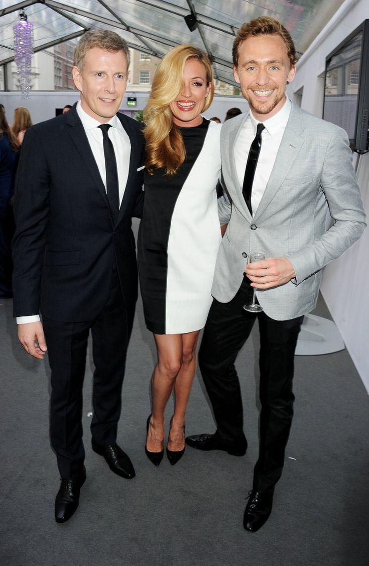 Tom Hiddleston, Cat Deeley, Patrick Kielty
