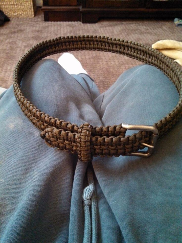 Double Cobra Stitch Paracord Belt                              …