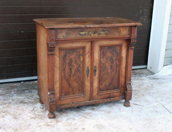 Небольшой комод, Германия, начало 20в #antique #antik #sale #interior #decor #antiq #vintage #retro #kontorak #furniture #oldfurniture #wood #oldtime #antiquities