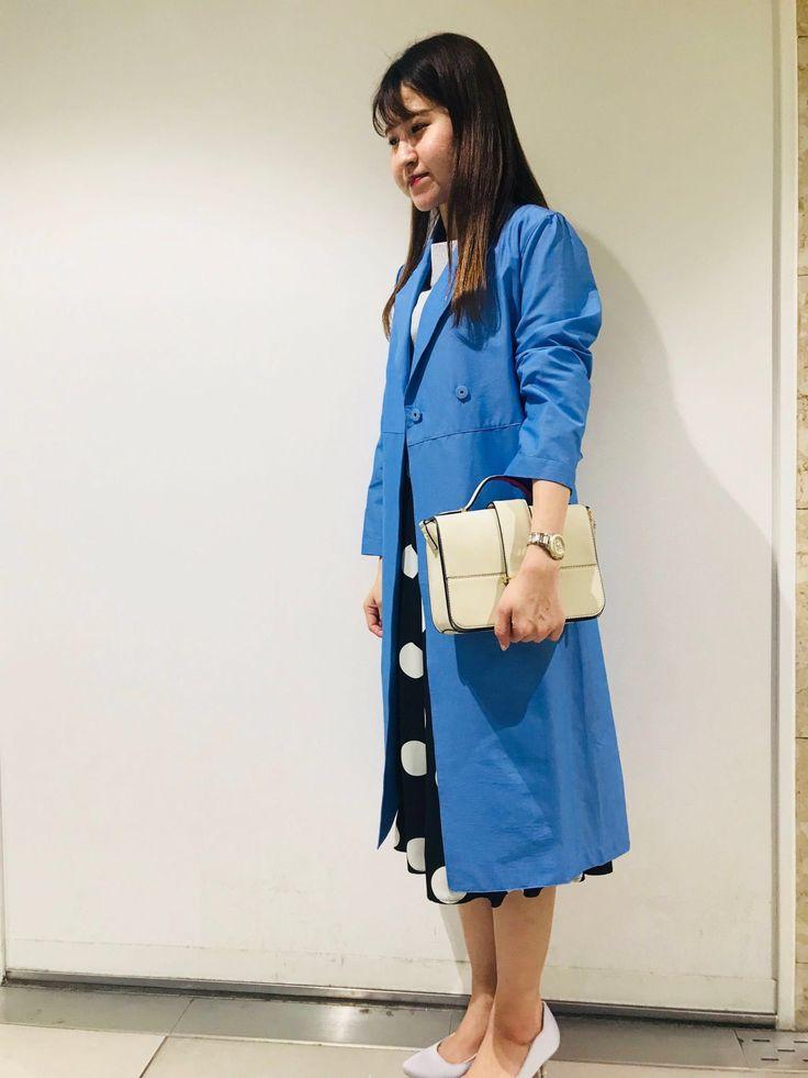 お出かけにオススメ♪コートを取りいれた春コーデ☆東京駅アストリア八重洲店