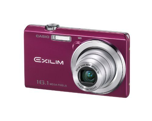 "O Casio Exilim EX-ZS12 Digital Camera Red EX-ZS12Rd by Casio. $130.00. The ""easy mode"" of established reputation is carried as it is by ease of use.  A pleasant ""self-shot"" function and a Hi-Vision movie can be photographed.  16M stylish model adopting stainless steel body."