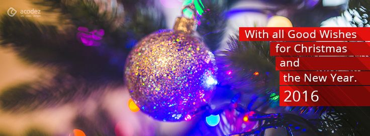Amazing Christmas Ball - New Year Facebook Cover Photo 2016 #newyear2016 #christmas