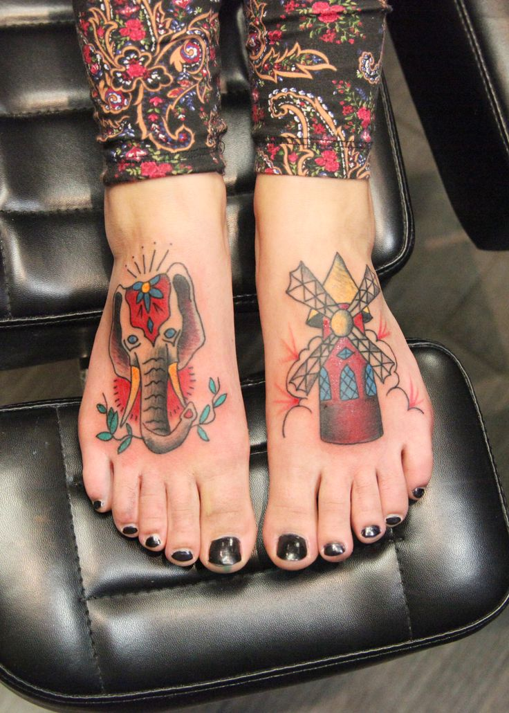 american traditional tattoos inspired by moulin rouge done by adam at at black apple studios in. Black Bedroom Furniture Sets. Home Design Ideas