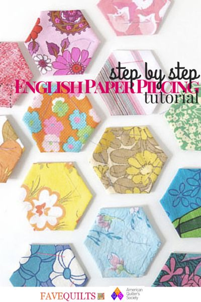 http://www.favequilts.com/Paper-Piecing/Step-by-Step-English-Paper-Piecing-Tutorial-from-AQS