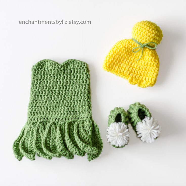 Crochet Newborn Tinkerbell Costume & The 76 best Crochet images on Pinterest | Babys Etsy and Toddlers