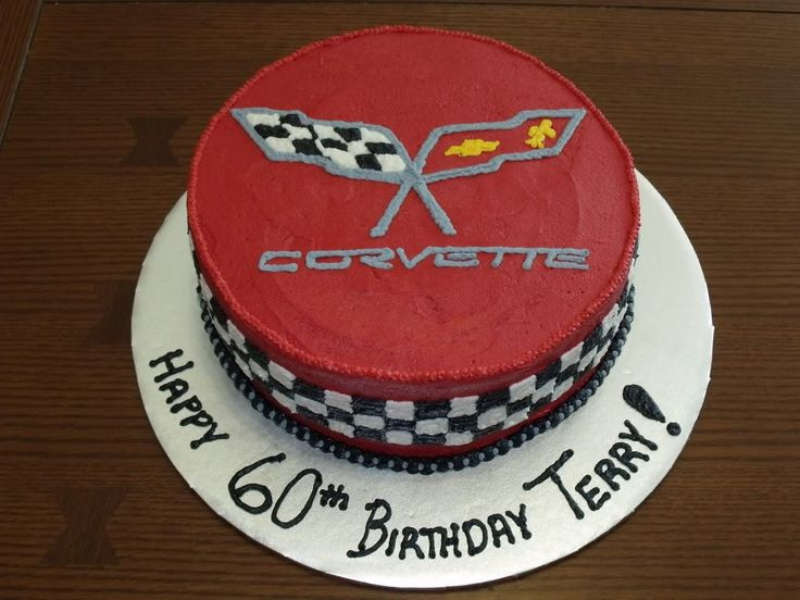 corvette cake  | Corvette Birthday Cake photo CorvetteCake4.jpg