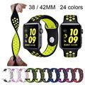 US $4.86  MERK sport Siliconen band strap voor apple horloge nike 42mm 38mm armband wrist band horloge horlogeband Voor iwatch 2/1 Accessoires
