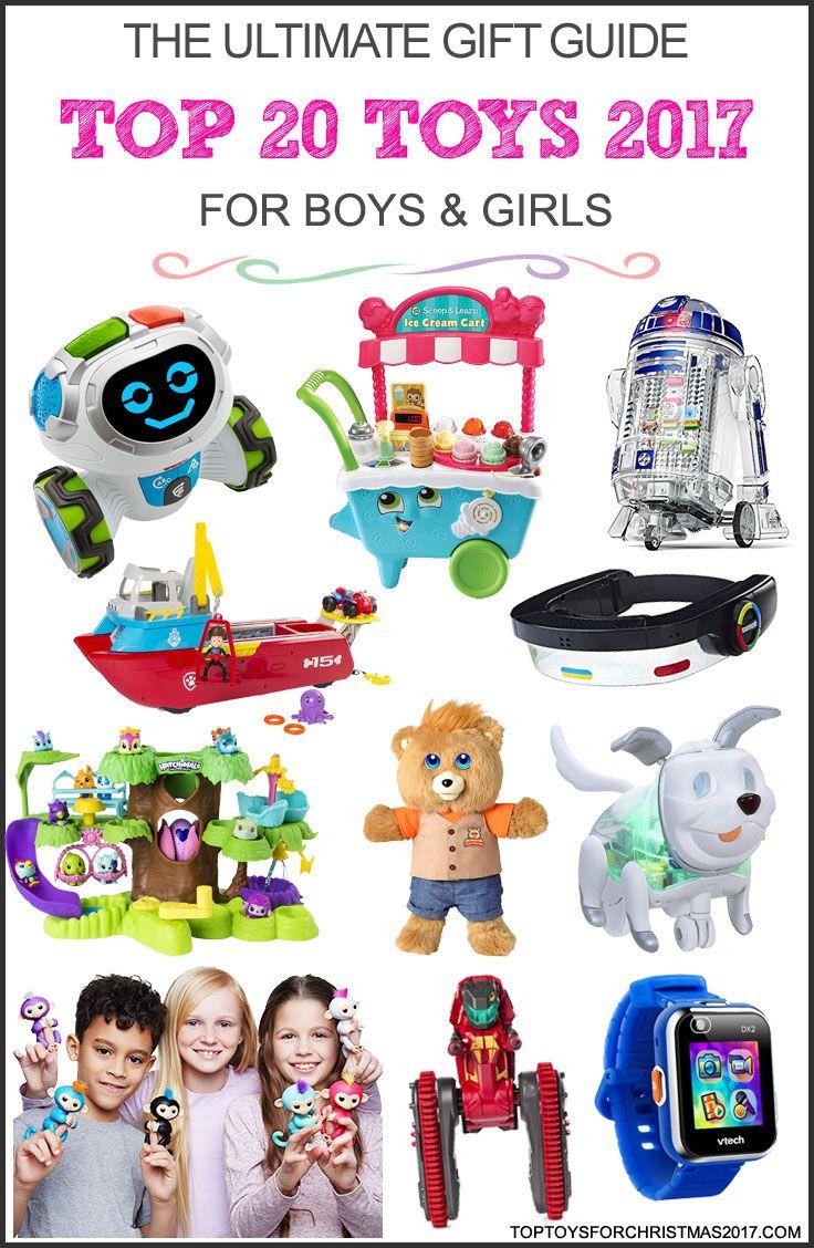 Top Toys for Christmas 2017 - Best Toys for Boys & Girls 2017