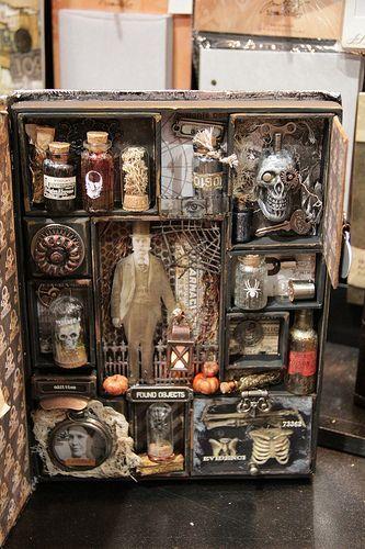 Halloween apothecary decor, fabulous