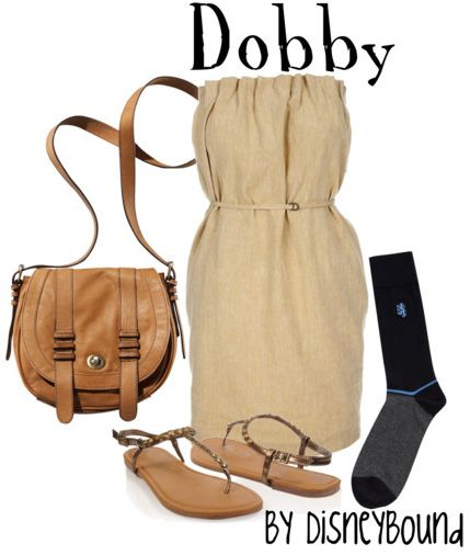 HP: Dobby inspired outfit by Disneybound at:  http://disneybound.tumblr.com/