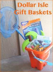 Dollar Isle Gift Baskets- 5$ gift ideas- LOVE this