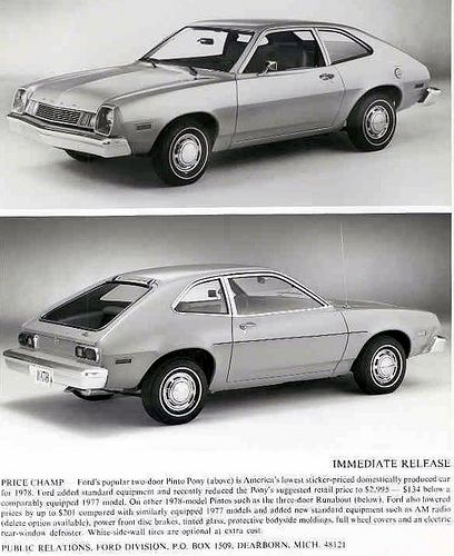 Ford Pinto Sedans And Ford: 23 Best Ford Pinto Images On Pinterest