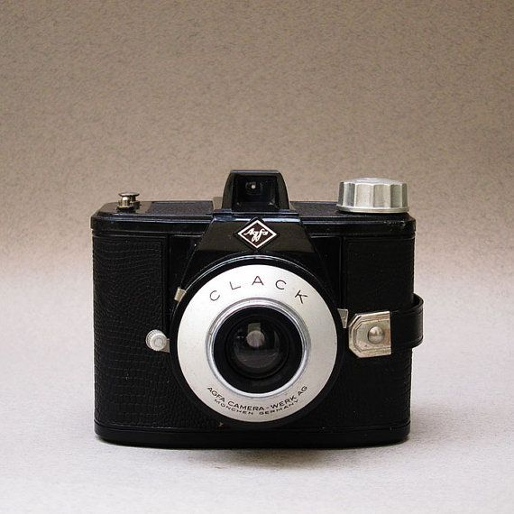 Agfa CLACK Vintage Camera - 1959 - 120  Film - A Very Cool Camera