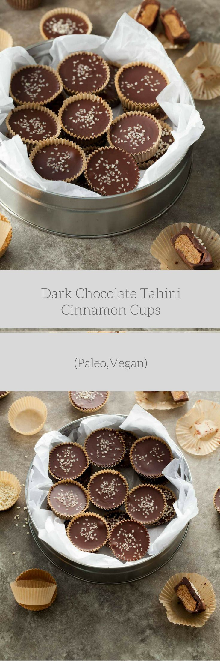 If you're looking for something deliciously different to add to your dessert game this year, these dark chocolate tahini cups are it. Let's make candy today. More specifically, let's make dark cho…