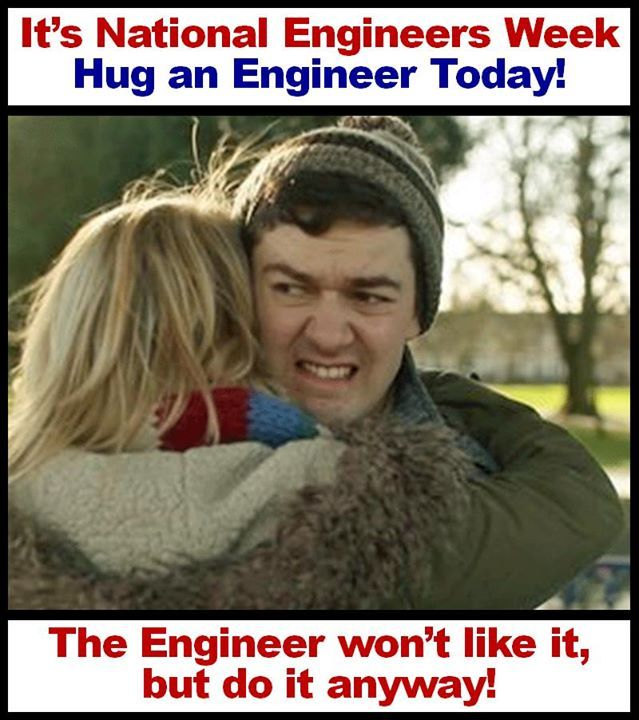 As everyone knows, engineers are not known for being social butterflies. I only like to hug people that are really close. I even rarely hug my mother. Career