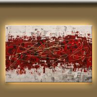 Large size contemporary modern art | Off Limits-Landscape Art Gallery-Abstract Art Paintings Image
