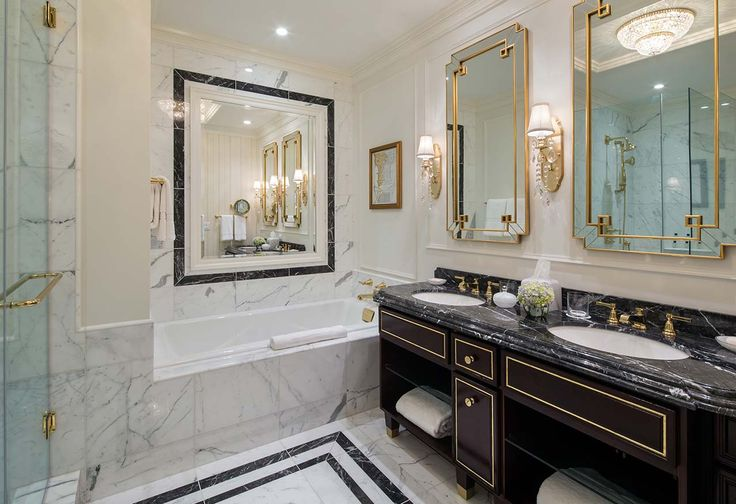 Bathroom The New Trump Hotel from the Old Post Office in Washington D.C.