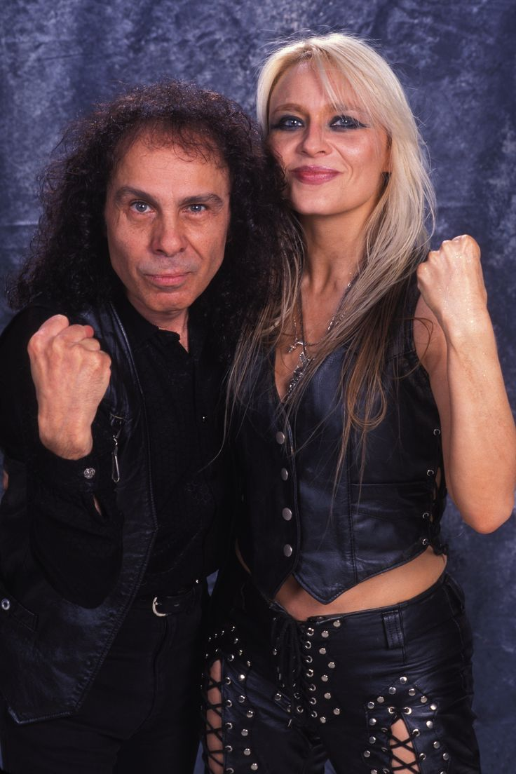 Doro Pesch and  Ronnie James DIO.....................