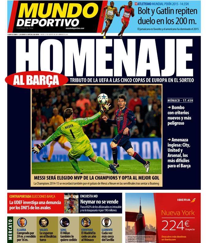 Mundo Deportivo on Twitter World