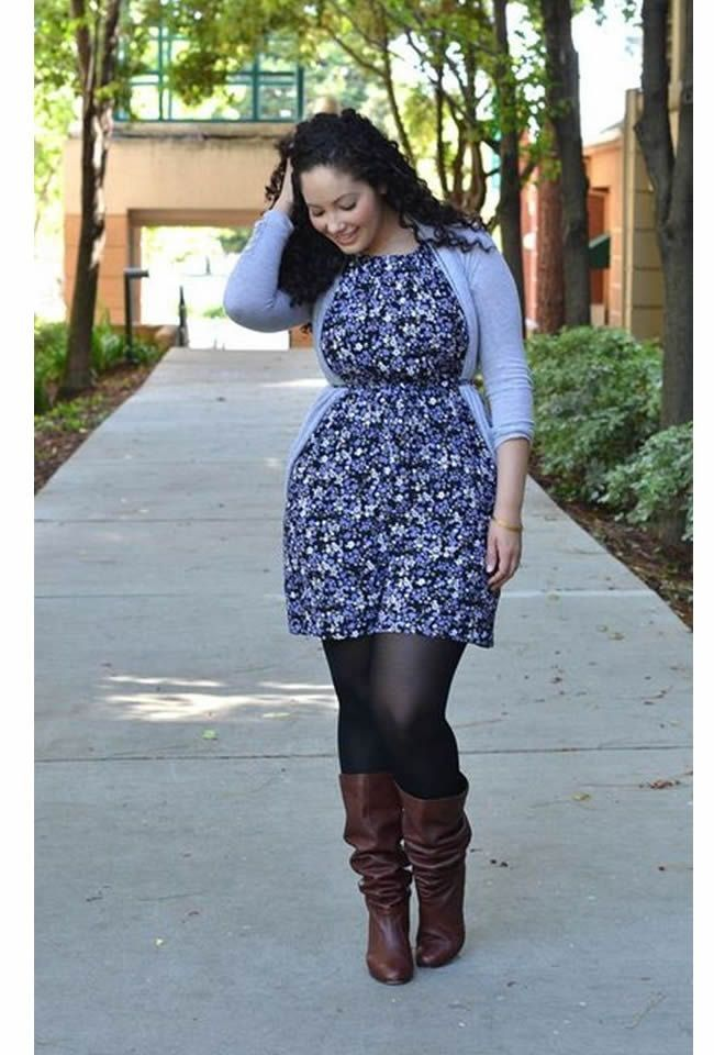 Anything to add more structure to your frame will ensure that you will look fab in your layered ensemble. | #PlusSize Women Layering Tips - DesignerzCentral