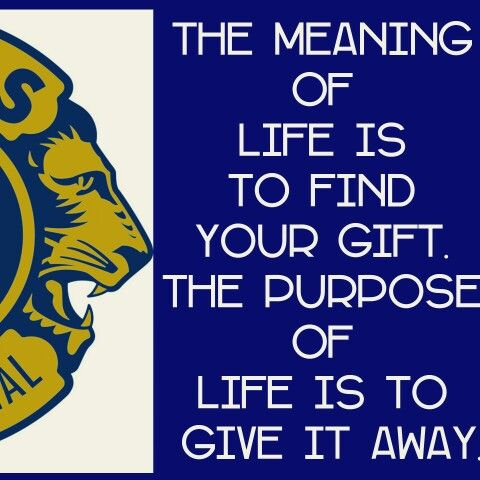 what is the lions club motto