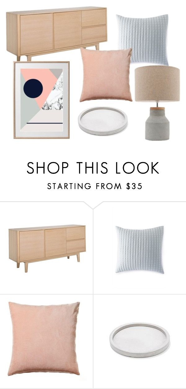 """""""// Blush Grey & Navy"""" by houseamour on Polyvore featuring interior, interiors, interior design, home, home decor and interior decorating"""