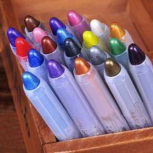 Cosméticos 19 Cores Sexy Shimmer Lip Liner Lápis Delineador À Prova D' Água Caneta Sombra de Olho alishoppbrasil