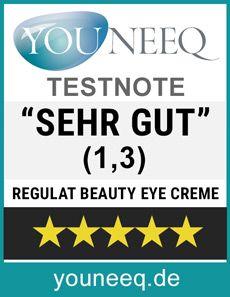 Regulat Beauty Anti Aging Eye Creme Test SEHR GUT