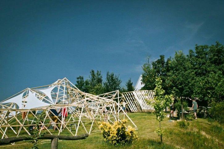 Hello Wood Art Camp at #Balaton #Csórompuszta #Europe #Hungary