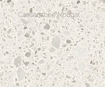 The quartz I chose was Caesarstone Nougat. Again – it's not bright and splashy. It's timeless. There are a multitude of accessories and colours I can use by ...