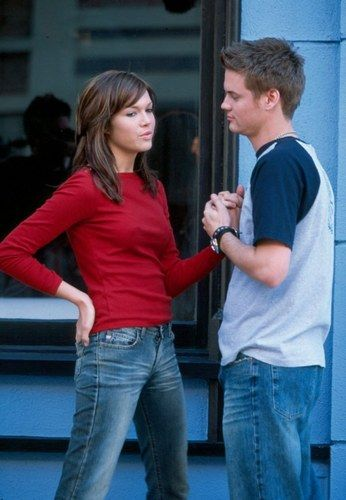 """Mandy Moore & Shane West in Mandy's """"Cry"""" music video (A Walk to Remember). <3"""