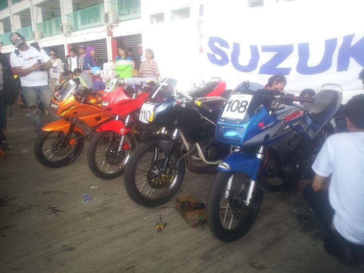 Fun race at sentul international circuit