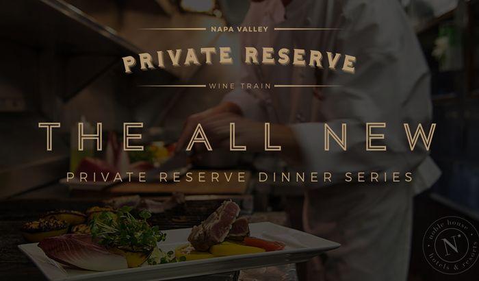 Private Reserve Train | Napa Wine Train