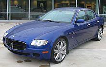 Maserati Quattroporte - Wikipedia, the free encyclopedia