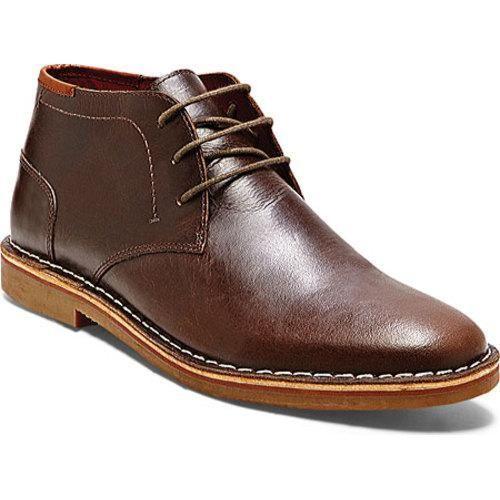 Men's Steve Madden Hestonn Dark Brown Leather - Overstock Shopping - Great  Deals on Steve Madden