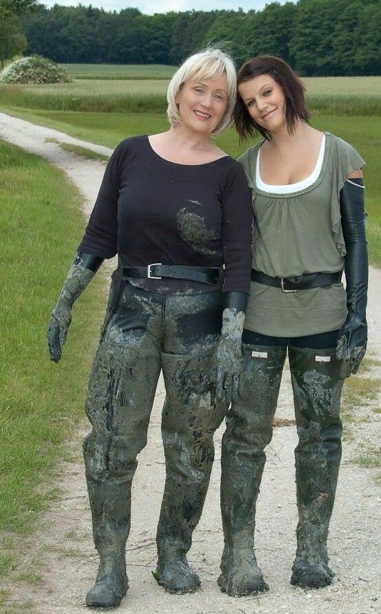 Muddy waders.   Things to Wear   Pinterest