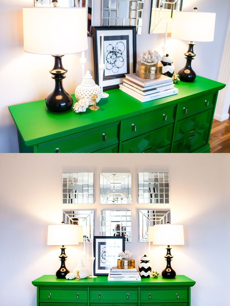 Every Bit Lovely Kelly Green Dining Room Home