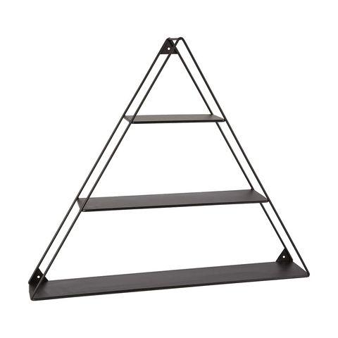 Metal Triangle Wall Shelf