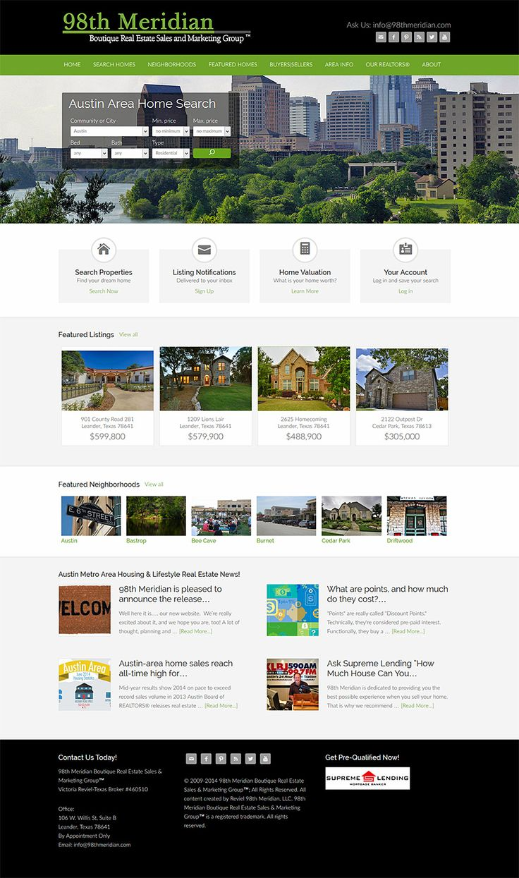 71 best WordPress Real Estate Websites images on Pinterest | Real ...