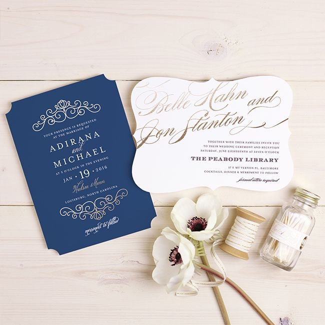 The 5 Prettiest Wedding Stationery Trends | Inspired By This | Bloglovin'