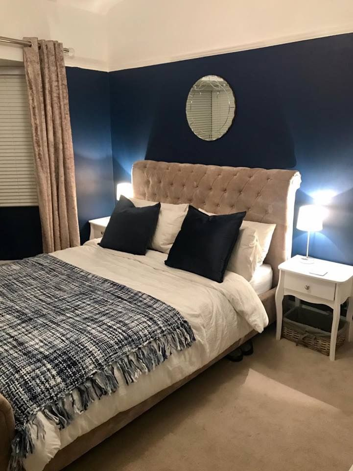 Such A Sophisticated Colour Dulux Sapphire Salute