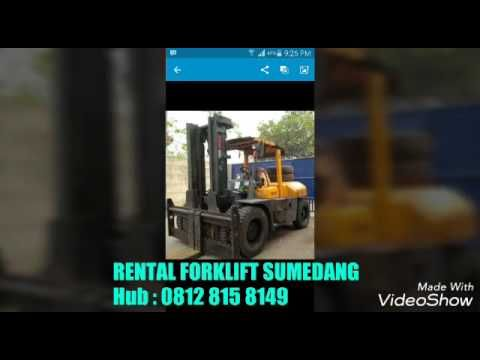 Sumedang Sewa Rental Forklift Sumedang 081380995777
