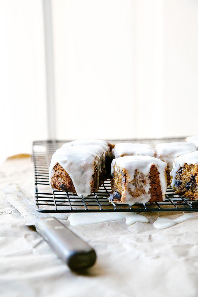 amongtheoldpines:Vegan Guten Free Chocolate Chunk Ginger Cake   Baked the Blog