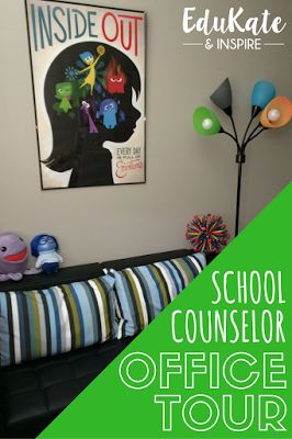 School Counselor Office Tour: Visit an elementary school counseling office for organization ideas, resources, and lots of photos!