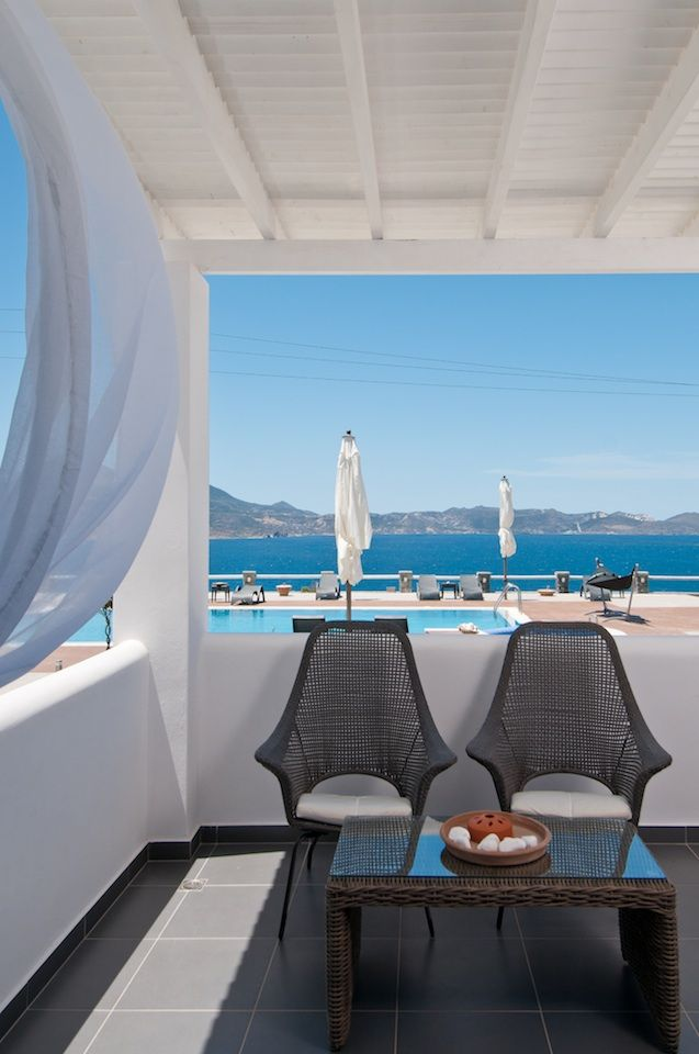 Views of the #sea, the #pool and the #gardens!  #greece #holidays #summer #travel